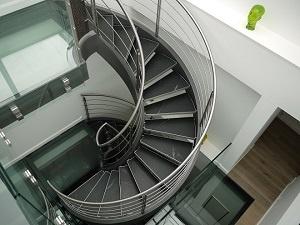 Escalier sur 3 niveaux